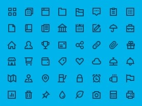 Flaticons - Simple, consistent vector icons.