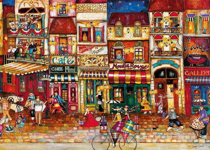 Buy Ravensburger - Streets of France Puzzle 1000pc