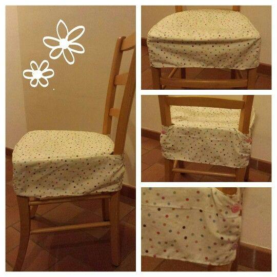 La housse de chaise qui tient bien en place et resistera for Patron pour housse de chaise