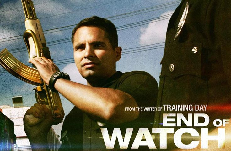 "Every moment of your life they stand watch. ""End of watch"" (2012)"