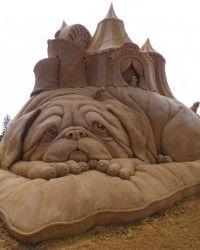 Sleepy dog  Design existe até na escultura, veja estes belos exemplos.