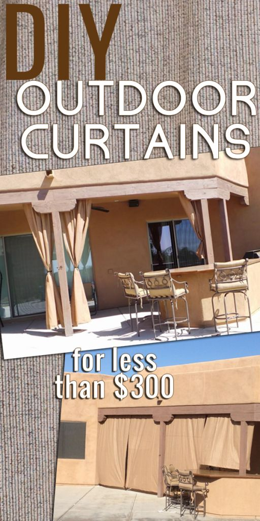 Charming DIY Outdoor Curtains: A How To