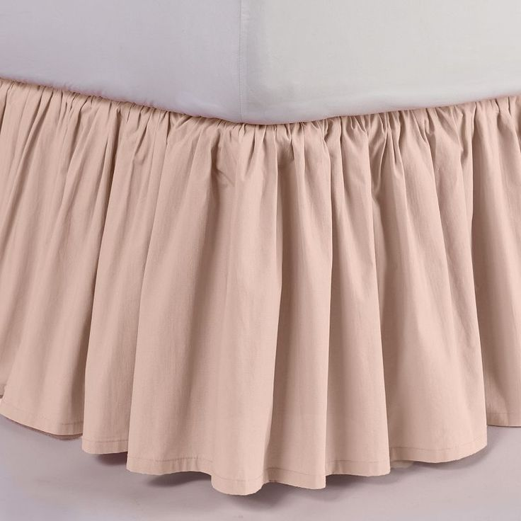 Lauren Conrad Blush Queen Bed Skirt