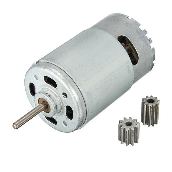 30000 rpm engranajes de motor para los niños montan las piezas de repuesto de automóviles 10teeth 12 voltios