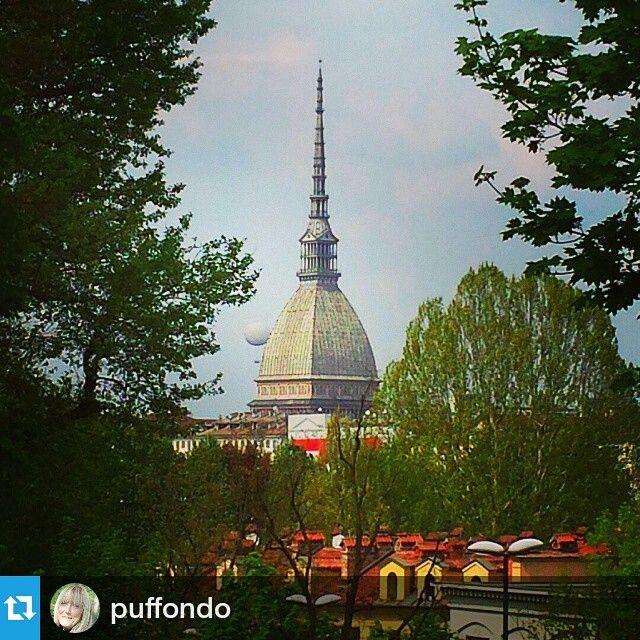#Torino raccontata dai cittadini per #inTO. Foto di puffondo #into La Mole e #turineye #gcpf904