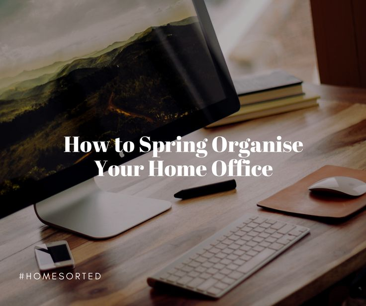 For our last instalment of spring organising tips, we're going to tackle an area of the home often avoided – the home office. So, go on, grab your recycling bin (we know you're going to have excess papers in your home office) and get to work. Cull excess clutter In order to start spring organising …