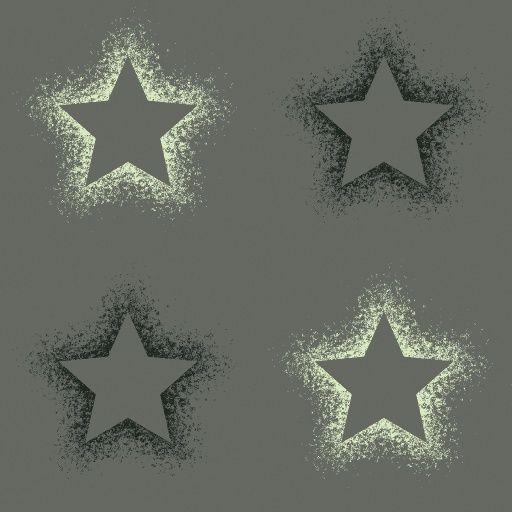 Sprayed Stars