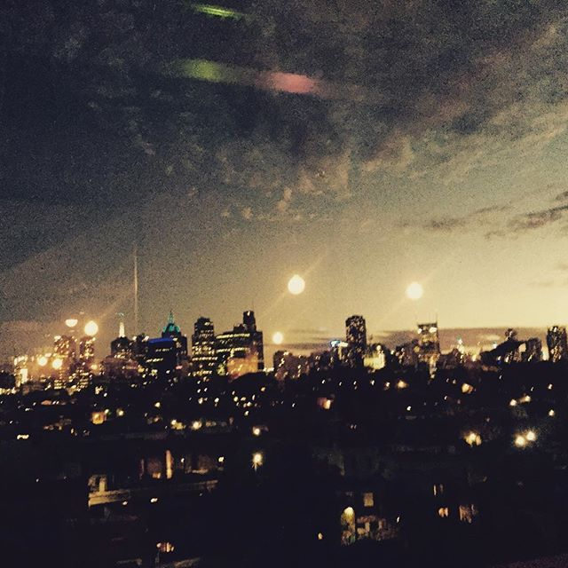 This view though  #melbourne #fitzroy #somanymoons @jay_small5