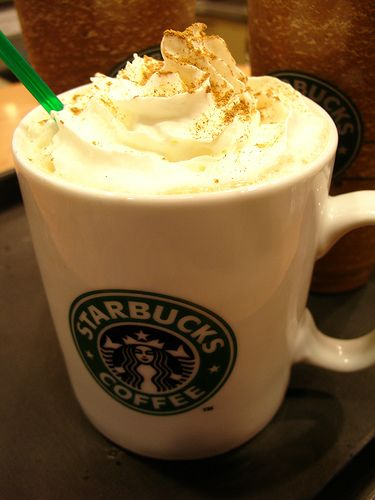 #ItsFallWhen you're enjoying the #sweet goodness of a #Pumpkin Spice Latte