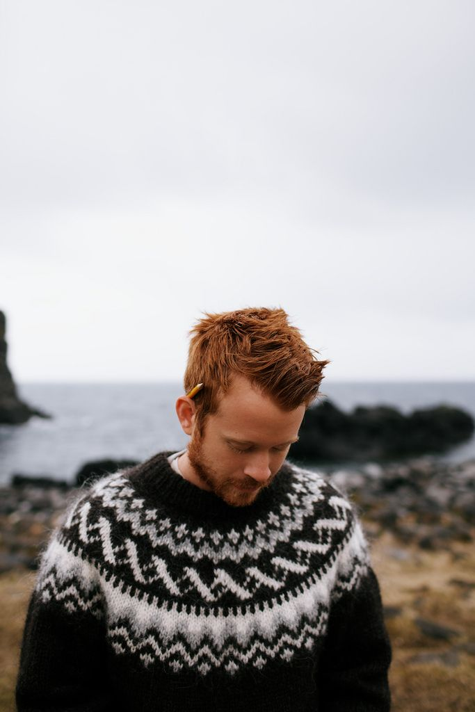 ICELAND - SWEATER. Want the sweater. And the man wearing it *hubrughbulurghbla* *cough* lol.