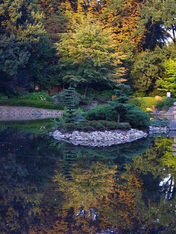 Wrocław - Japanese garden.