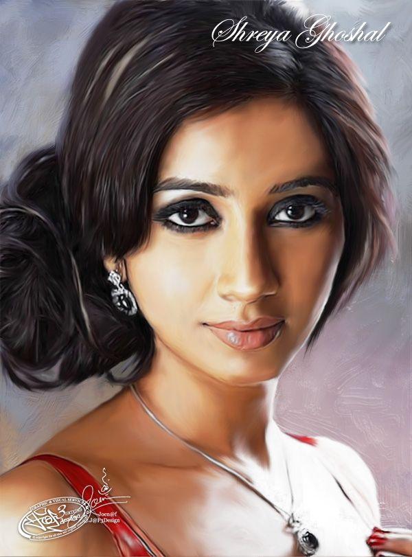 Shreya Ghoshal Indian Divas/Singer Female Smudge by Joen@f