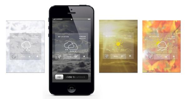 Apps by Iv. Slosarova, via Behance
