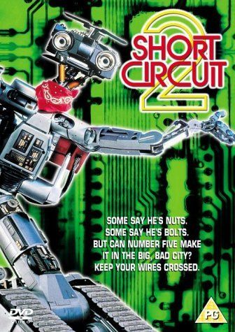 Directed by Kenneth Johnson.  With Fisher Stevens, Michael McKean, Tim Blaney, Cynthia Gibb. Robot Johnny Five comes to the city and gets manipulated by criminals who want him for their own purposes.