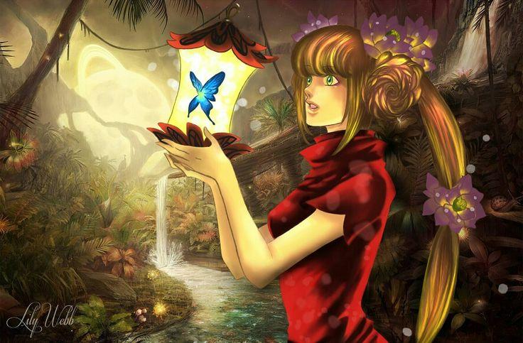 Fantasy art. #digitalpainting. Digitally painted in photoshop. #manga #art