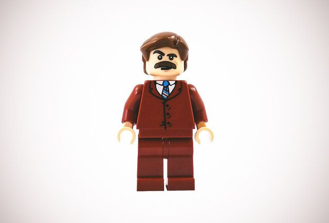 LEGO Ron Burgundy finally exists