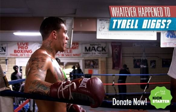 Limited time reward offer! Pledge today and get insider access to the Gabriel Rosado Vs. Peter Quillin & Bernard Hopkins vs Karo Murat title card in Atlantic City this Saturday! http://www.kickstarter.com/projects/602060953/whatever-happened-to-tyrell-biggs #boxing #philly