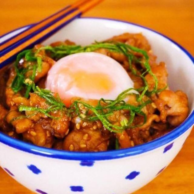 スタミナにんにく豚丼♪夏休みに作りたい簡単ぱぱっとごはん&夏バテ解消レシピ!