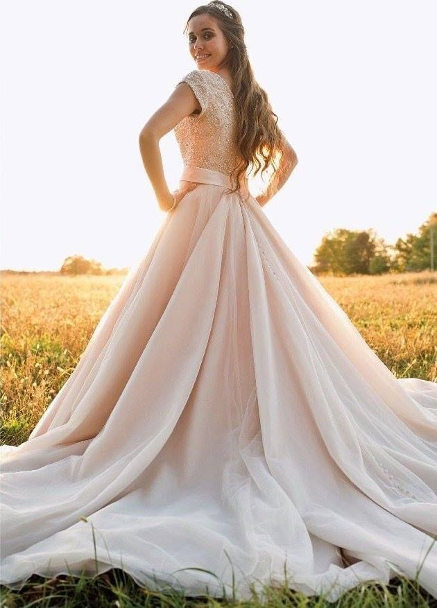 Jessa Seewald's wedding dress.