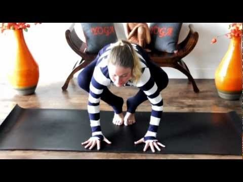 Crow Pose - Clarity Yoga Tip    Subscribe to our youtube channel  - youtube.com/theclaritycentre