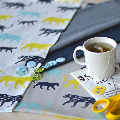PANTTERI, Soft gray   NOSH Fabrics Pre Spring Collection   Shop at en.nosh.fi   Kevään kausimalliston kankaat saatavilla nyt nosh.fi
