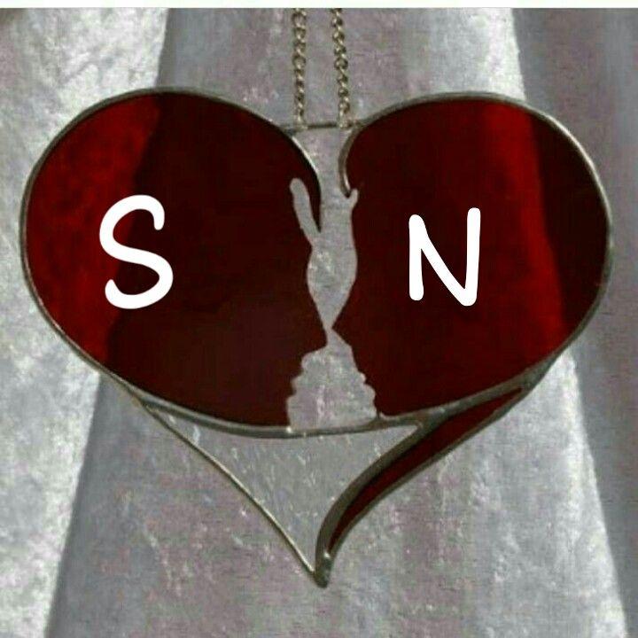 Pin By N Shaikh On N S Alphabet Wallpaper Love Heart