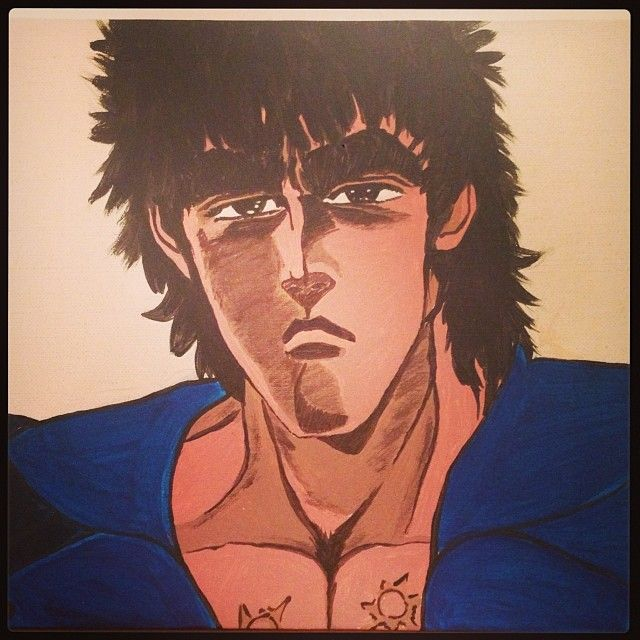 Kenshiro or Hokuto no Ken Fist of the North Star