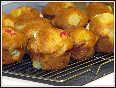 Qu'est-ce qui mijote chez Nance: Muffins à la salade de fruits