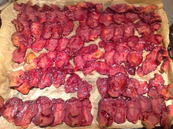 Domácí Tretter´s chipy neboli řepelky. Foto: Sláma v botách