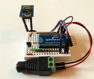 ESP8266 Wifi temperature logger. Simple project to demonstrate the internet iof things