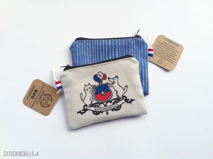 Monedero Escudo de Chile 2.0