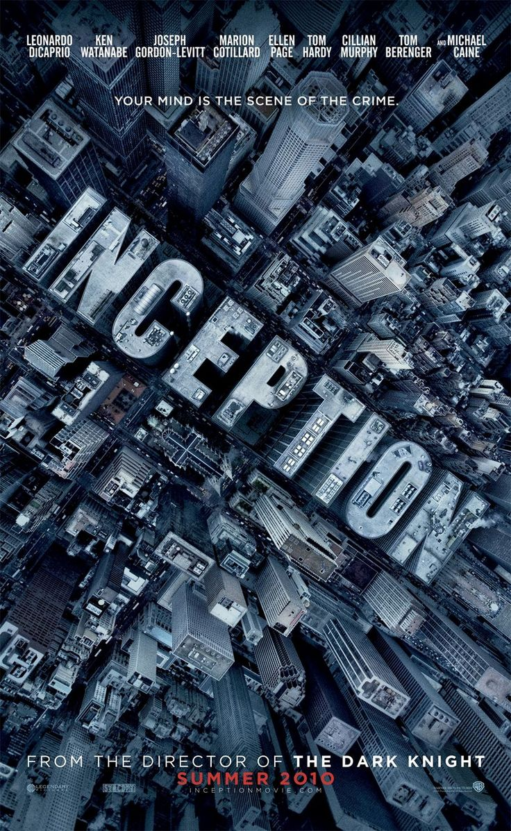 Graphic-ExchanGE - a selection of graphic projects: Movie Posters, Books, Shooting Script, Christophernolan, Favorite Movies, Films, Inception 2010, Christopher Nolan