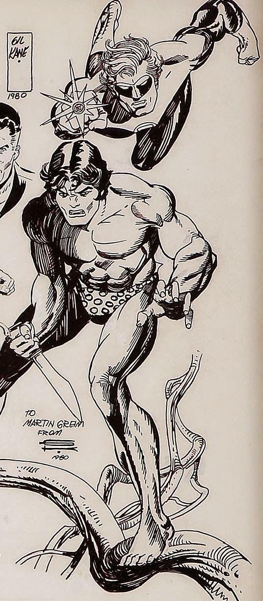 Cap'n's Comics: Tarzan by Gil Kane | Comics Art | Tarzan ...