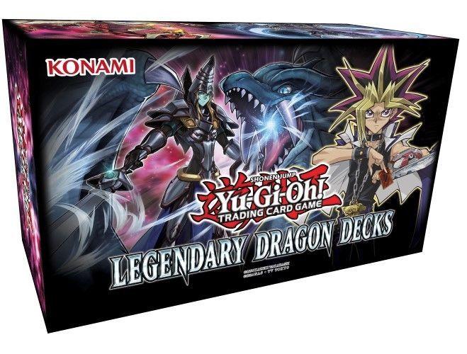 Yu-Gi-Oh Legendary Dragon Decks 2017 - Sealed Box - Dimension Dragons - Odd-Eyes #YuGiOh