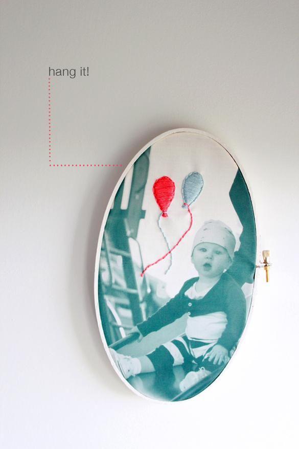 DIY Photo DIY Art DIY Crafts DIY embroidered photo art