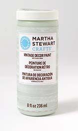 Martha Stewart Crafts ® 8oz Vintage Décor Matte Chalk Paint - Antique Sky | Plaid Enterprises