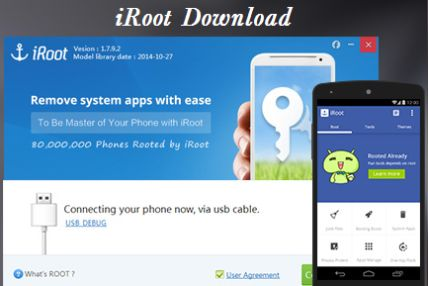 iRoot v3.2.2_160623_1015 (One Click Root)   iRoot v3.2.2_160623_1015 (One Click Root)Requirements:2.2 and upOverview:The best free android root app in the world!  Highest Success Rate The advanced android root engine and secure android root technique make the success rate more than 90%.  Support almost all android devices Now more than 150000 devices from Android OS 2.2 to 4.4 are supported by iRoot. This number is still growing  Easiest android root app You will be master of your android…