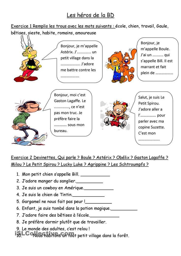 Les héros de la BD francophone