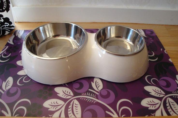 Cat It Matbar - Snygg kattmatskål från Cat It med dubbla matskålar   199 SEK