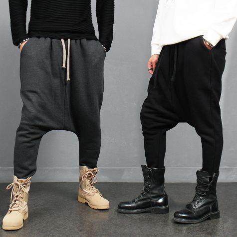 Avant garde Over Low Drop Crotch Baggy Sweatpants