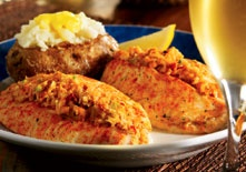 Seafood-Stuffed Flounder