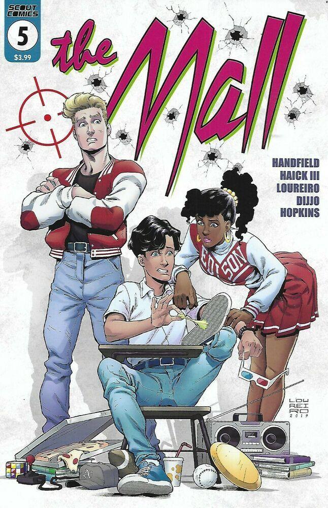 The Mall Comic 5 Cover A Rafael Loureiro 2019 Don