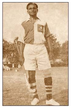 1936 Berlin Olympics Indian hockey captain Dhyan Chand
