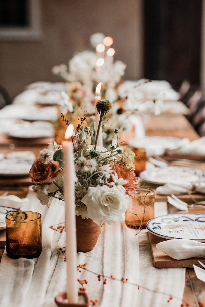 rustic wedding table decor wedding
