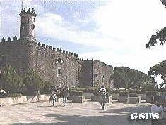 Cuernavaca Palace of Cortes in Cuernavaca, Morelos, Mexico