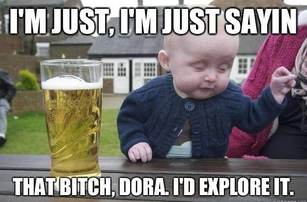 Wrong...so, wrong!   Drunk baby confessions