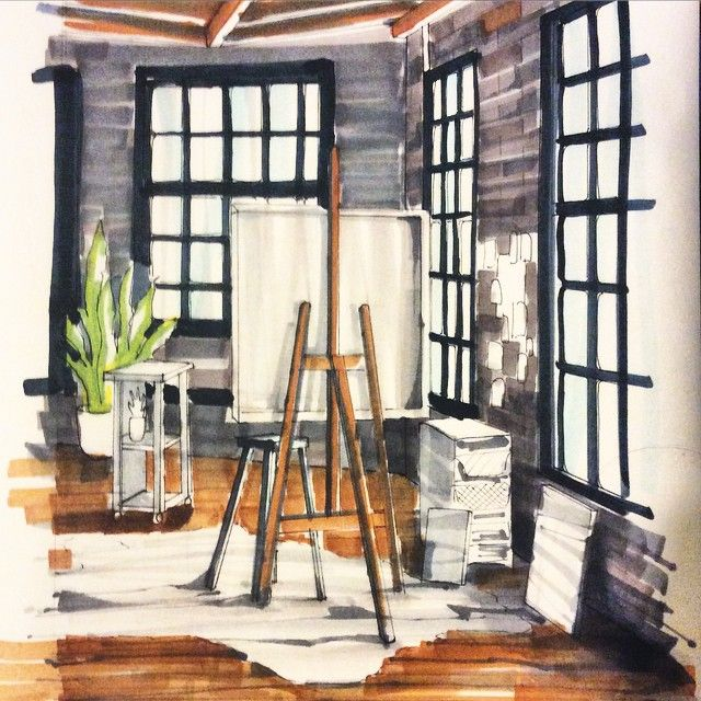 Быстрый скетчик ✏️#sketch #sketches #sketchbook #sketching #sketchzone #sketch_daily #sketchdesign #interior #instasketch #interiorsketch #interiordrawing #interiordesignsketch #art #artwork #Topcreator #copic #markers #art_worldly