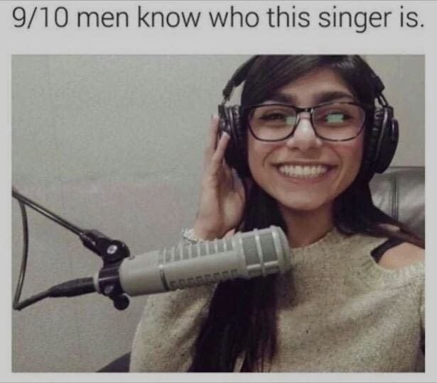 Those 1/10 men are lying