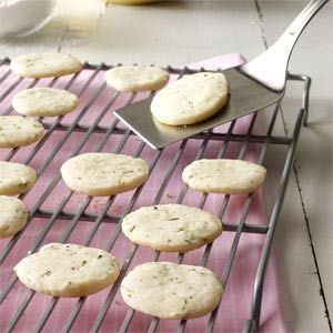 """Lemon & Rosemary Shortbread Cookies Recipe (I saw these at Whole Foods and said """"challenge accepted."""")"""