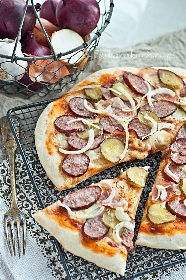 Ivka w kuchni Pizza